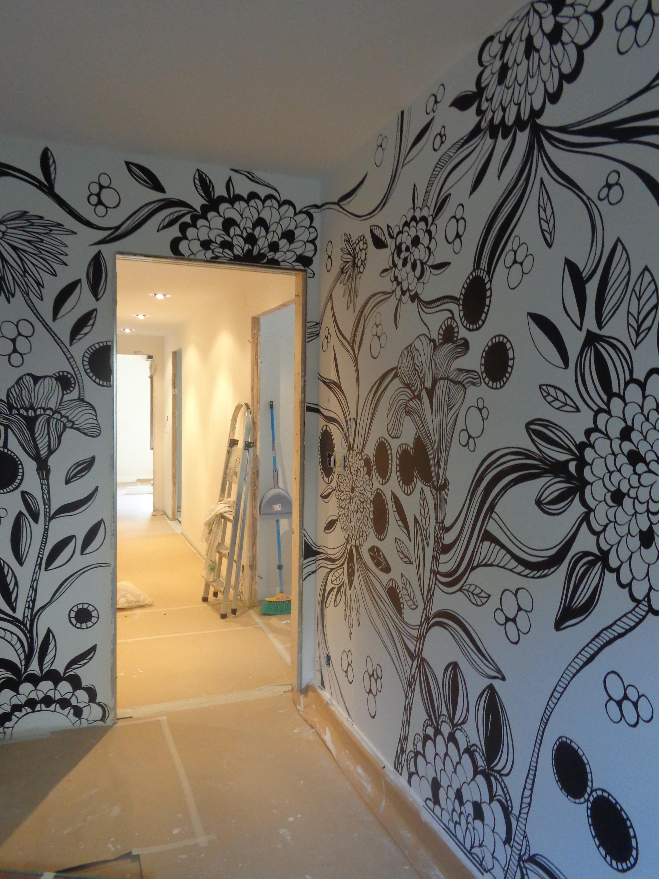Pintura y murales murales paredes pintadas y personalizadas for Vinilos pared blancos